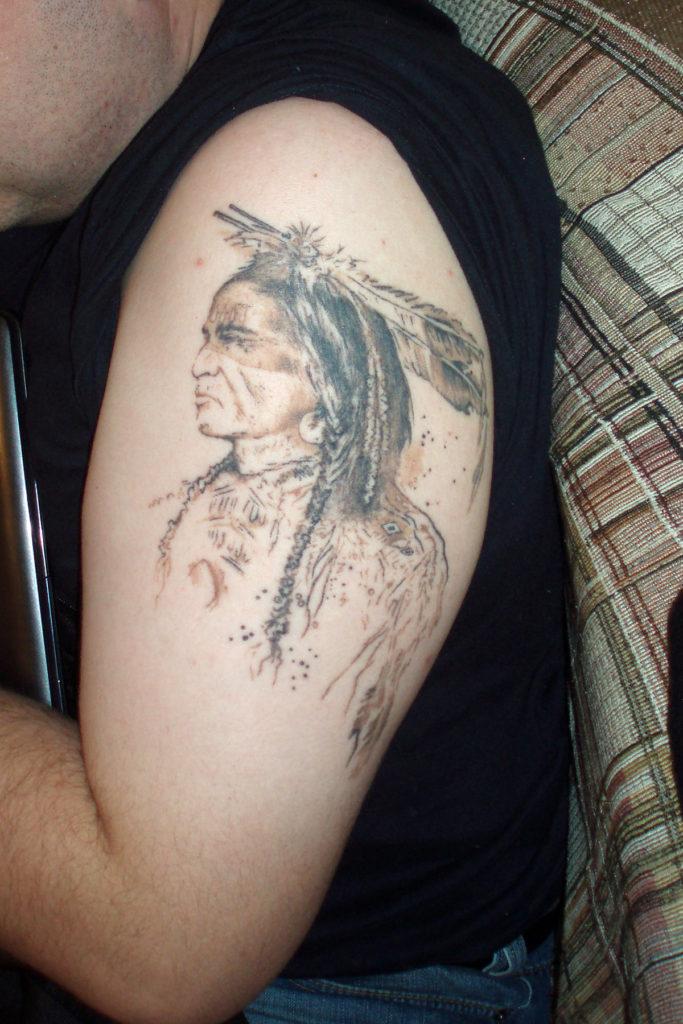 Тату Индеец